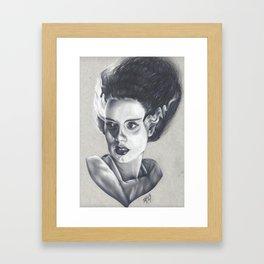 The Bride Has Died Framed Art Print