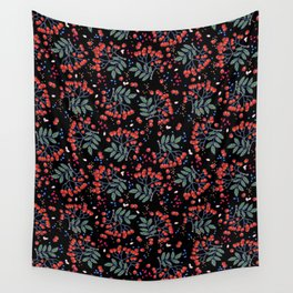 wild berries Wall Tapestry