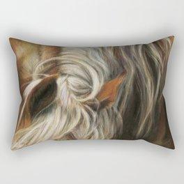 Horse's Mane Rectangular Pillow