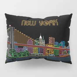 New York Circuit Pillow Sham