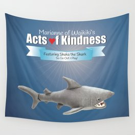 Shaka the Shark Wall Tapestry