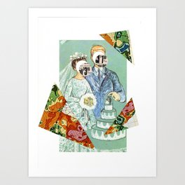 A marriage made in retail... Art Print