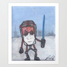 Hoth Coffee Art Print