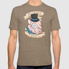 Gentleman Pig (S6 Tee) T-shirt