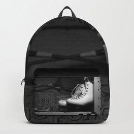 Vintge Skates-B&W Backpack