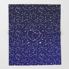 Star Lovers Throw Blanket