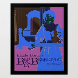 Lizzie Borden Bed & Breakfast Art Print