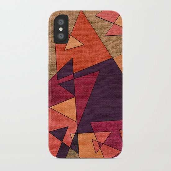 Earth Geometry 02 iPhone Case