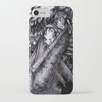berserk iPhone & iPod Cases featuring Berserk by lcillustrations