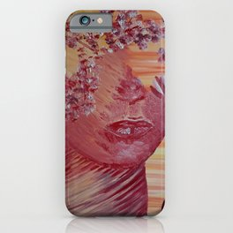 Women Nature by Lu iPhone Case