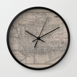 Toronto 1916 Wall Clock