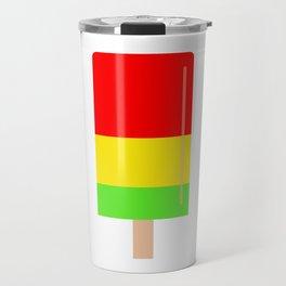 Popsicle colorful design Travel Mug