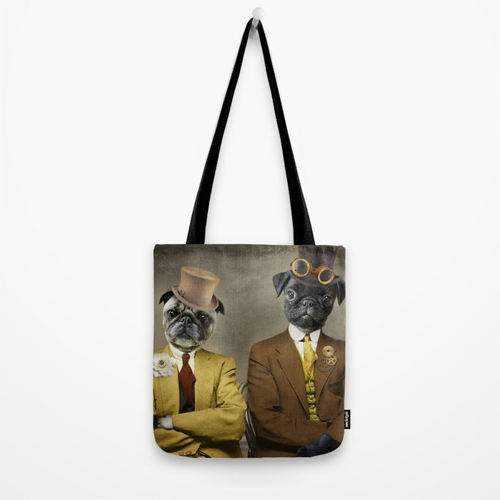 Steampug Tote Bag