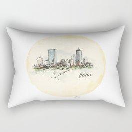 Day 2 - Boston Design Marathon Rectangular Pillow