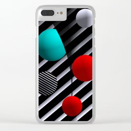 opart dreams -04- Clear iPhone Case
