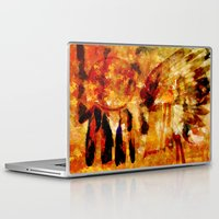 dreamcatcher Laptop & iPad Skins featuring Dreamcatcher by valzart