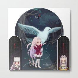 Fate/Zero:  Iri Metal Print