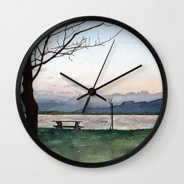 at Lake Constance Wall Clock