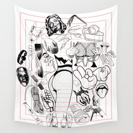 Smut Wall Tapestry