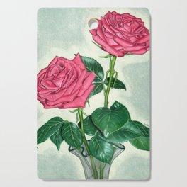 Roses Cutting Board