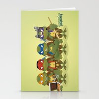 tmnt Stationery Cards featuring TMNT by Micka Design