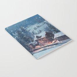 Winter Wonderland Notebook