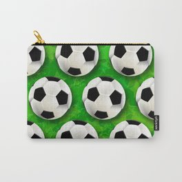 Soccer Ball Football Pattern Carry-All Pouch