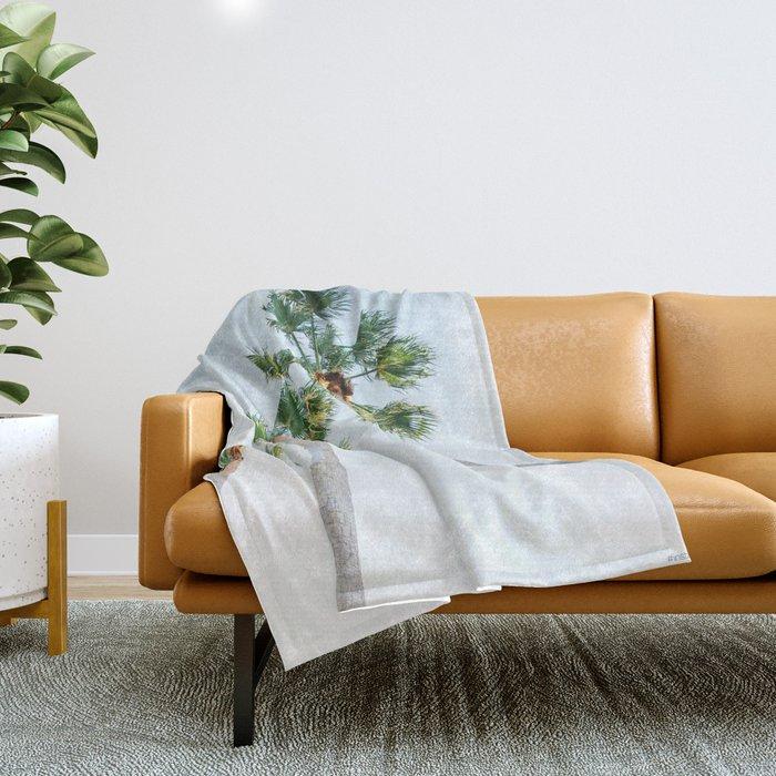 PALM TREES | ST. PETE, FL Throw Blanket