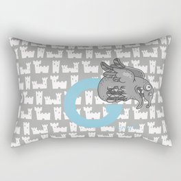 g for gargoyle Rectangular Pillow