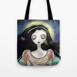 Blue Autumn Tote Bag