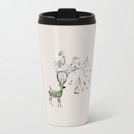 Wildlife Deer Travel Mug