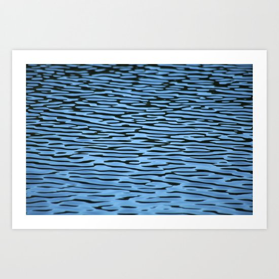 Water Ripples Art Print