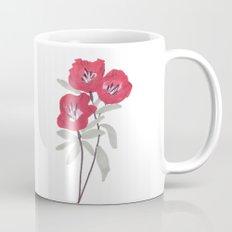 Clarkia Red Flower Coffee Mug