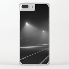Strangers pass Clear iPhone Case