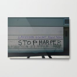 Stop Harper - Lavender Is So Hot Right Now Metal Print