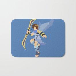 Pit(Smash)Blue Bath Mat