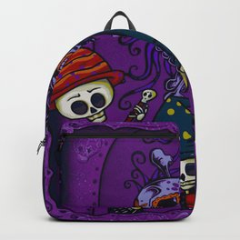 Day of the Dead Celebration (Painting) Backpack