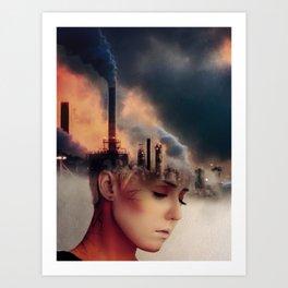 Future Regret Art Print