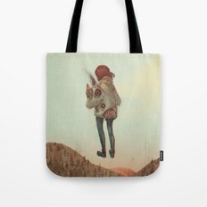 Overcoming Obstacles Tote Bag