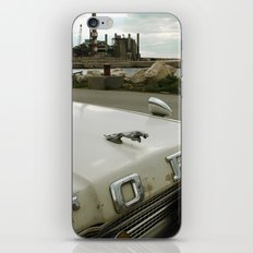 Travel Away on a Rainy Day iPhone Skin