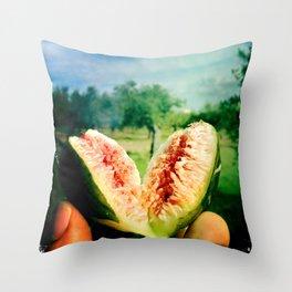 fresh fruit Throw Pillow