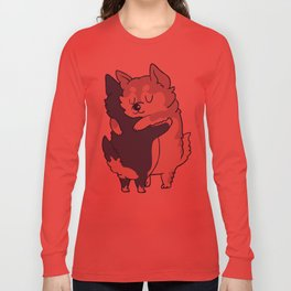 Husky Hugs Long Sleeve T-shirt