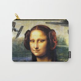 Mona Lisa versus the Empire Carry-All Pouch