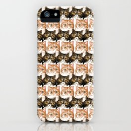 Puffy and Caesar  iPhone Case