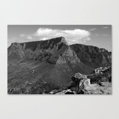 Table Mountain Cape Town South Africa Canvas Print