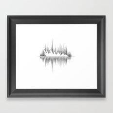 Tree Falls Framed Art Print