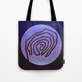Tribal Maps - Magical Mazes #04 Tote Bag