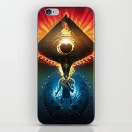 Lucid Synchronized Dimensionalism iPhone Skin