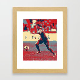 Carli Lloyd 2 Framed Art Print