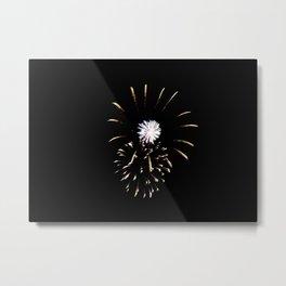 Fireworks 8 Metal Print
